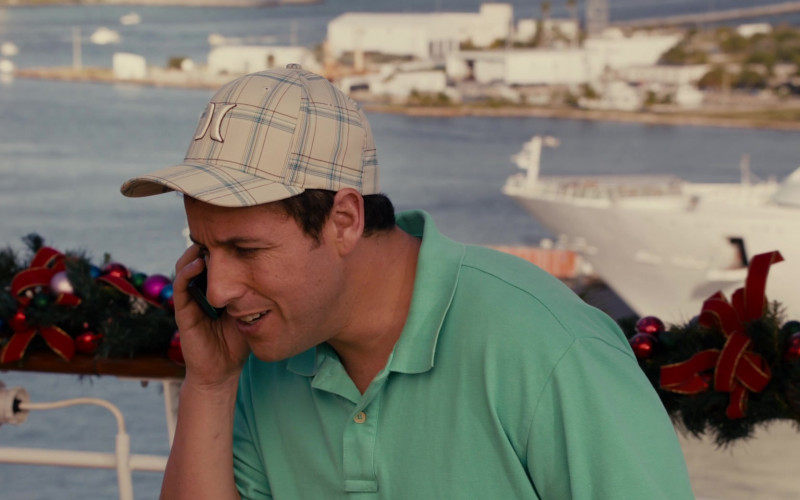 Hurley Caps of Adam Sandler in Jack and Jill Film (2)