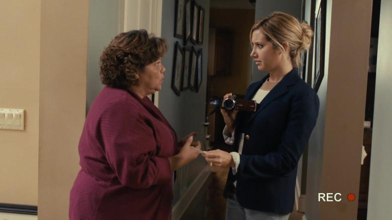 JVC Video Camera of Ashley Tisdale as Jody Sanders in Scary Movie 5 (2)