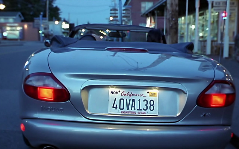 Jaguar XK8 [X100] Convertible Car in Scary Movie (1)