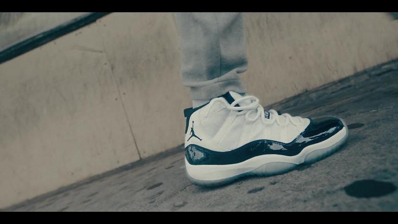 Jordan 11 Concord Black & White Sneakers in Sneakerheads S01E01 101 (2020)