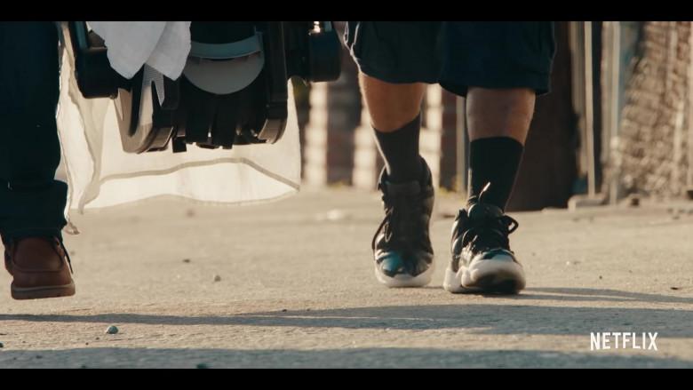 Jordan 11 Sneakers of Andrew Bachelor (King Bach) as Bobby in Sneakerheads Season 1
