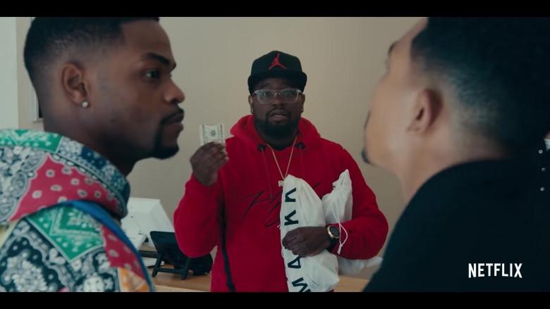 Jordan Cap (Black) in Sneakerheads Season 1 (2020)