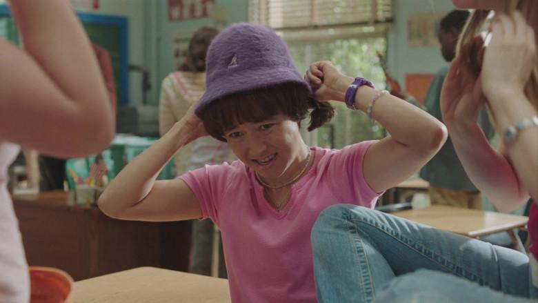 Kangol Furgora Garnet Hat of Maya Erskine in PEN15 S02E04 TV Show (1)