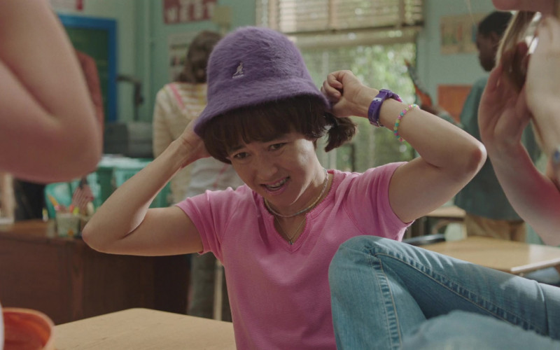Kangol Furgora Garnet Hat of Maya Erskine in PEN15 S02E04 TV Show (1)