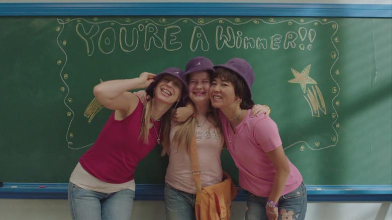 Kangol Furgora Purple Bucket Hat Worn by Anna Konkle in PEN15 S02E04 TV Show (3)