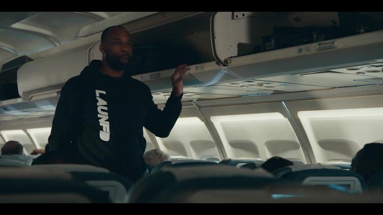 LAUNFD Men's Black Hoodie in Sneakerheads S01E04 (1)