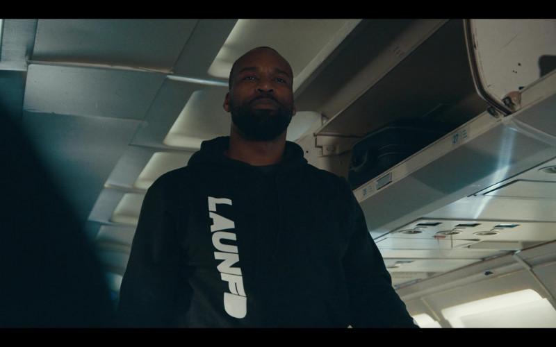 LAUNFD Men's Black Hoodie in Sneakerheads S01E04 (2)