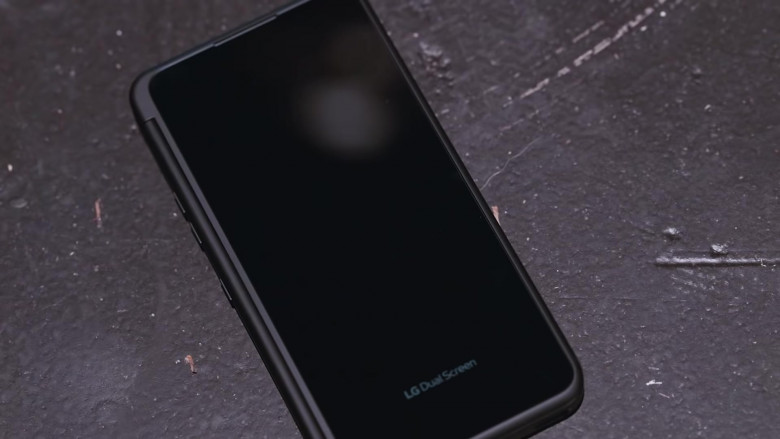 LG G8X ThinQ Dual Screen Android Smartphone in Pick Up Music Video by DaBaby feat. Quavo (1)