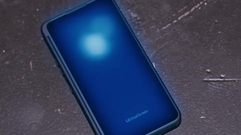 LG G8X ThinQ Dual Screen Android Smartphone in Pick Up Music Video by DaBaby feat. Quavo (2)