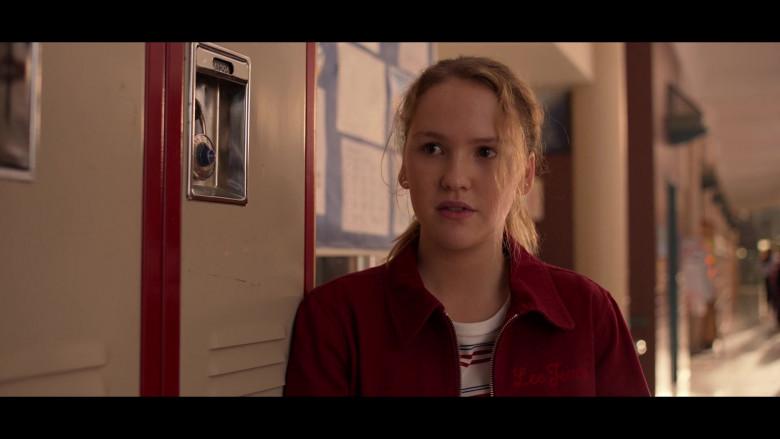 Lee Jeans Jacket Worn by Talitha Bateman as Lex in Away S01E04 (1)