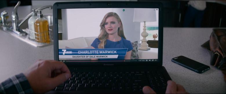 Lenovo Laptop of Rainn Wilson as Michael Stearns in Utopia S01E06 TV Show (1)