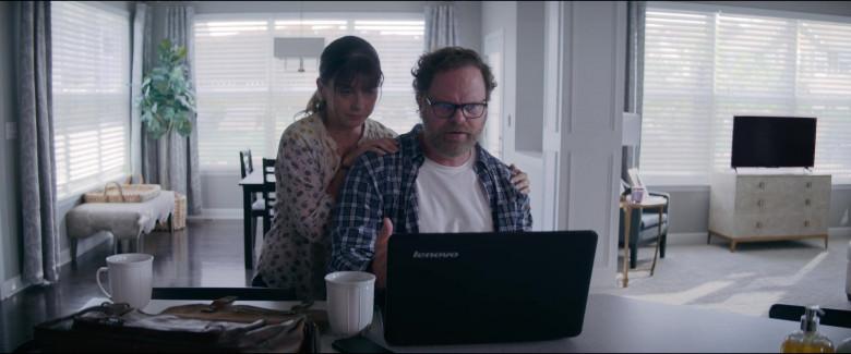 Lenovo Laptop of Rainn Wilson as Michael Stearns in Utopia S01E06 TV Show (3)