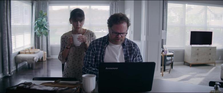 Lenovo Laptop of Rainn Wilson as Michael Stearns in Utopia S01E06 TV Show (4)