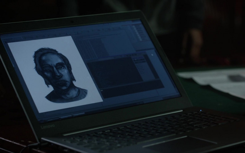 Lenovo Notebook in L.A.'s Finest S02E09