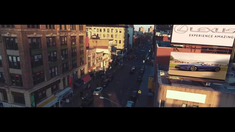 """Lexus Car Billboards in """"Pa' Ti + Lonely"""" by Jennifer Lopez & Maluma (2020)"""