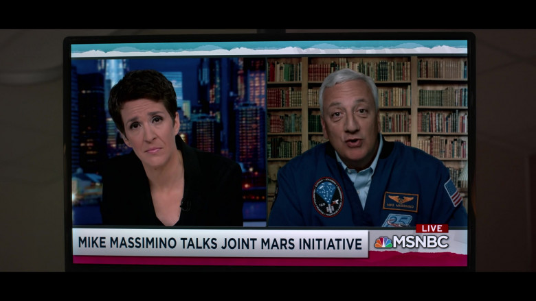 MSNBC TV Channel in Away S01E01 Go (2020)