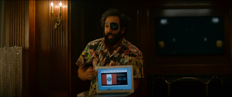 MacBook Air Laptop by Apple Used by Desmin Borges as Wilson Wilson in Utopia S01E06 (2)