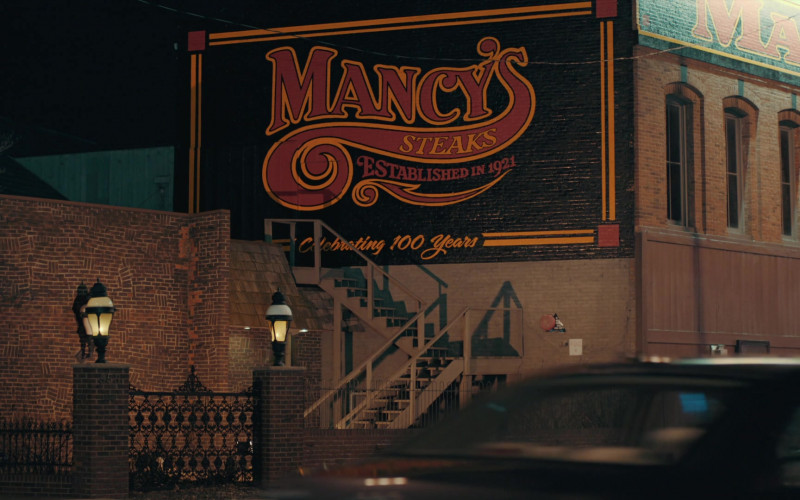 Mancy's Steakhouse in A.P. Bio S03E02