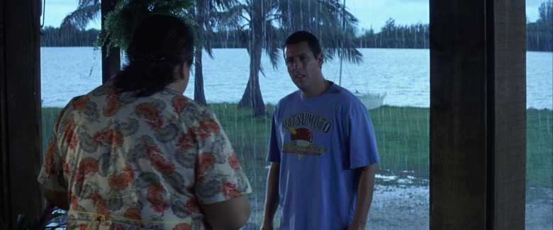 Matsumoto Shave Ice T-Shirt of Adam Sandler as Henry Roth in 50 First Dates Movie (2)
