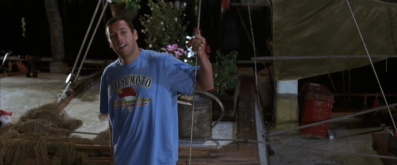 Matsumoto Shave Ice T-Shirt of Adam Sandler as Henry Roth in 50 First Dates Movie (3)