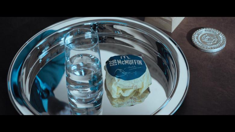 McDonald's Egg McMuffin Breakfast Sandwich of Brendan Gleeson as President Donald Trump in The Comey Rule