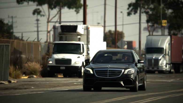 Mercedes-AMG S63 Sedan in L.A.'s Finest S02E05
