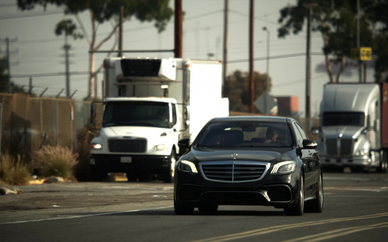 Mercedes-AMG S63 Sedan in L.A.'s Finest S02E05