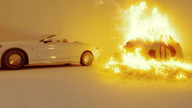 """Mercedes-Maybach S 650 Cabriolet White Car in """"23"""" by Jake Paul Starring Logan Paul (5)"""