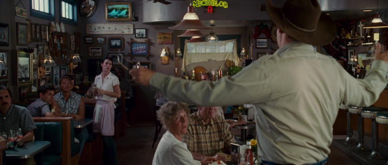 Michelob Beer Signs in Wild Hogs (2007)