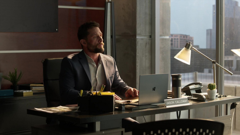 Microsoft Surface Laptop Used by David Fumero as Lt. Jason Calloway in L.A.'s Finest S02E05 (2)