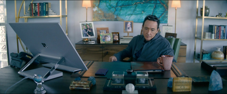 Microsoft Surface Studio Computer Used by John Cusack as Dr. Kevin Christie in Utopia S01E07