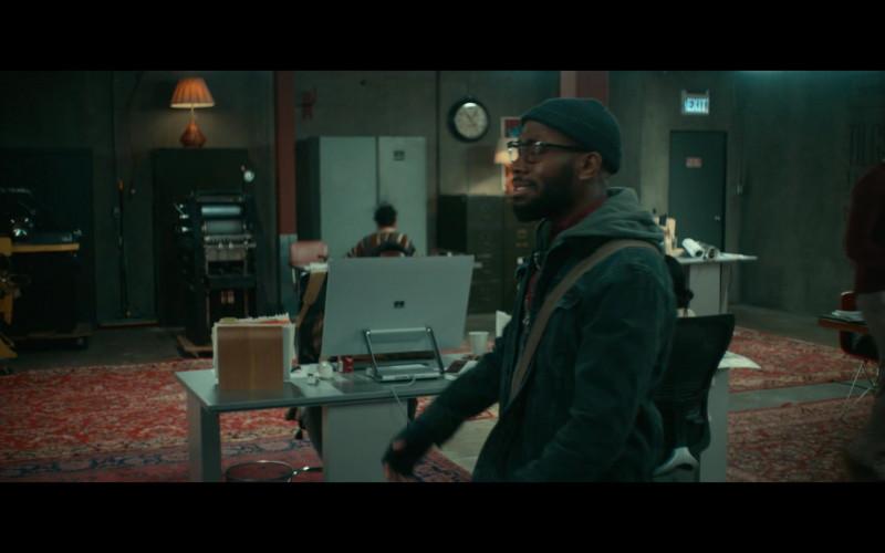 Microsoft Surface Studio Computer in Woke S01E02