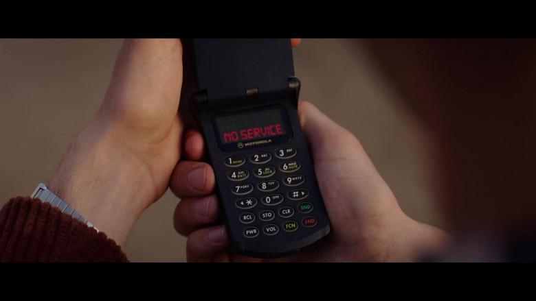 Motorola Phone of Judah Lewis as Cole Johnson in The Babysitter Killer Queen