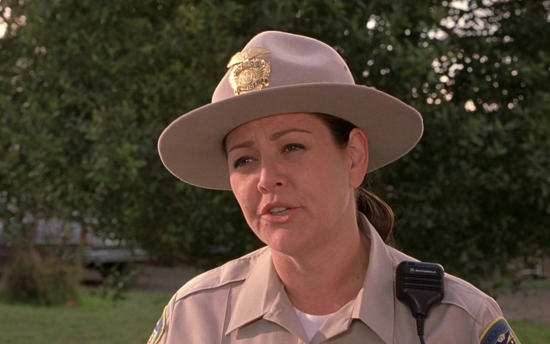 Motorola Radio of Camryn Manheim as Trooper Champlin in Scary Movie 3