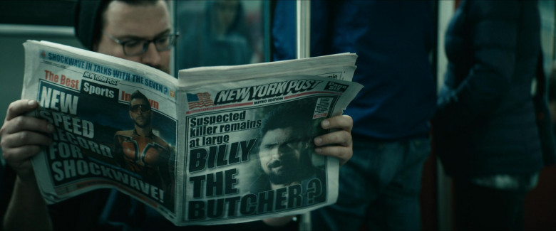 New York Post Newspaper in The Boys S02E01