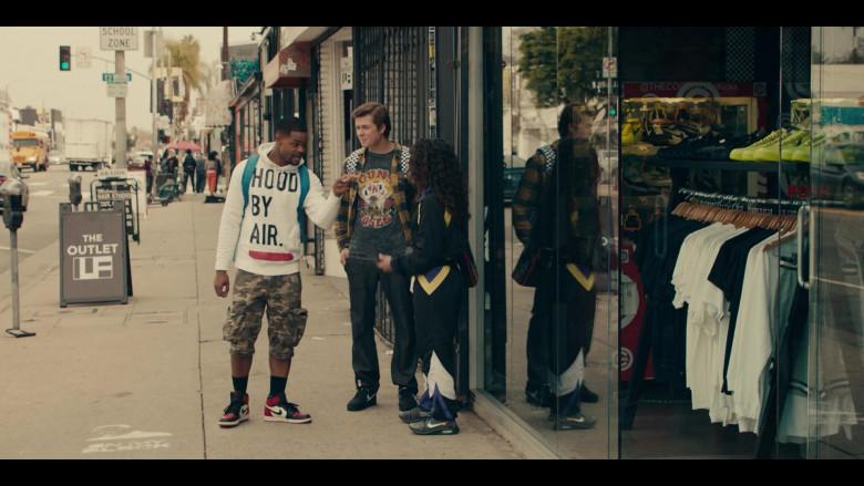 Nike AJ 1 Black Toe Sneakers of Andrew Bachelor as Bobby in Sneakerheads S01E04 (1)