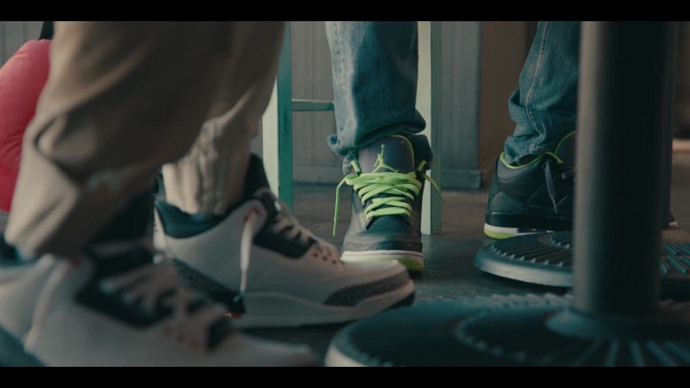 Nike AJ 3 Sneakers of Andrew Bachelor as Bobby in Sneakerheads Season 1 Episode 6