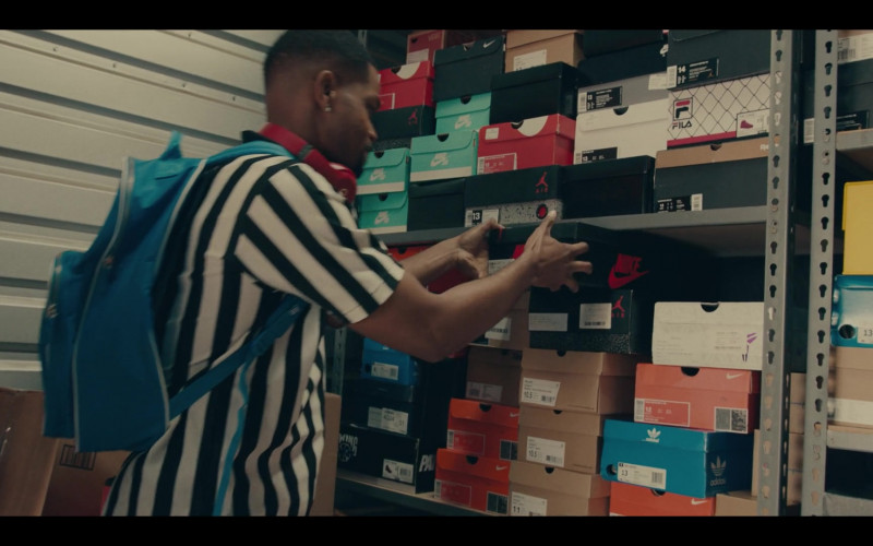 Nike, Adidas and Fila Boxes in Sneakerheads S01E01 101 (2020)