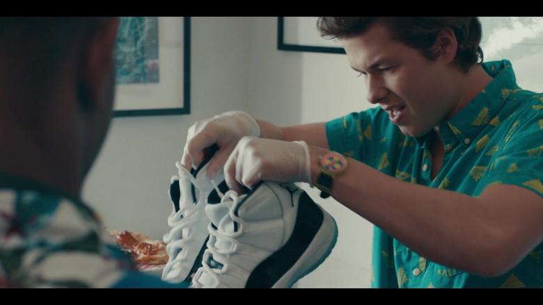Nike Air Jordan 11 Sneakers Held by Matthew Josten as Stuey in Sneakerheads S01E02 (1)