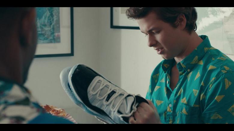 Nike Air Jordan 11 Sneakers Held by Matthew Josten as Stuey in Sneakerheads S01E02 (3)