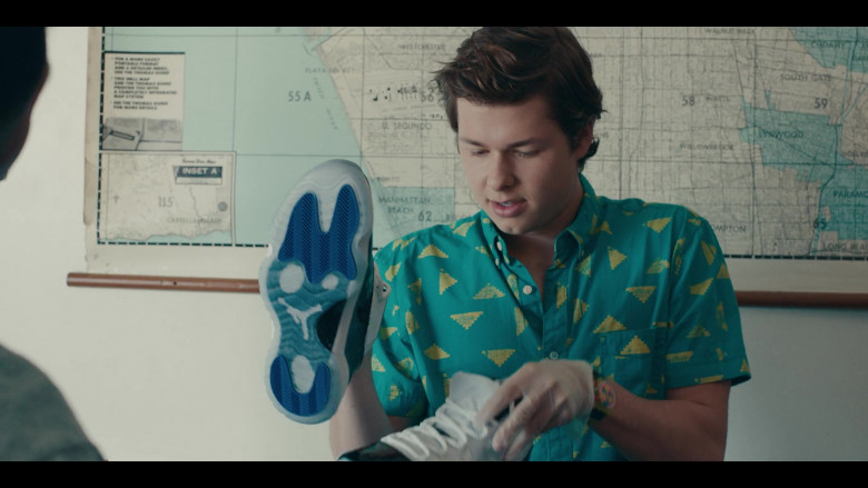 Nike Air Jordan 11 Sneakers Held by Matthew Josten as Stuey in Sneakerheads S01E02 (4)