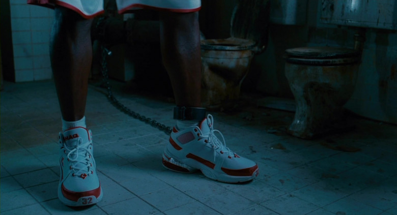 Nike Air Shaq Sneakers of Shaquille O'Neal in Scary Movie 4 (1)