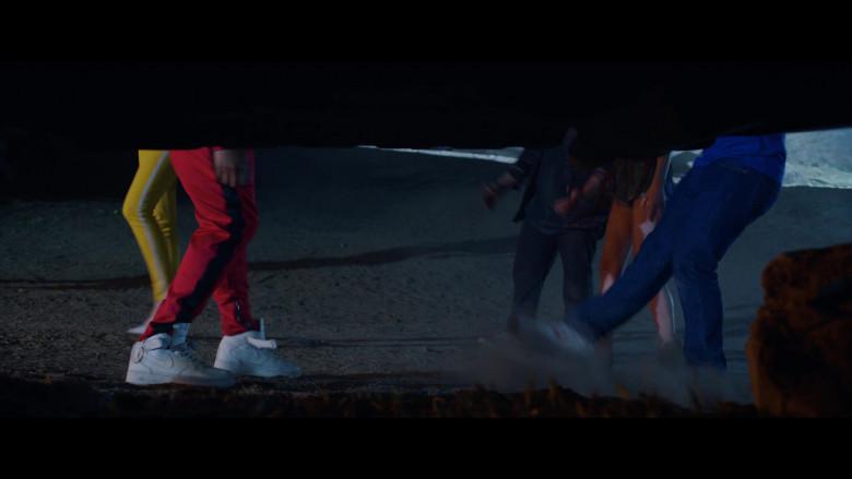 Nike Air White Sneakers of King Bach – Andrew Bachelor as John in The Babysitter Killer Queen (1)