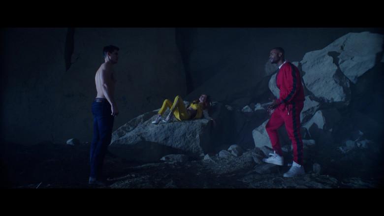 Nike Air White Sneakers of King Bach – Andrew Bachelor as John in The Babysitter Killer Queen (2)