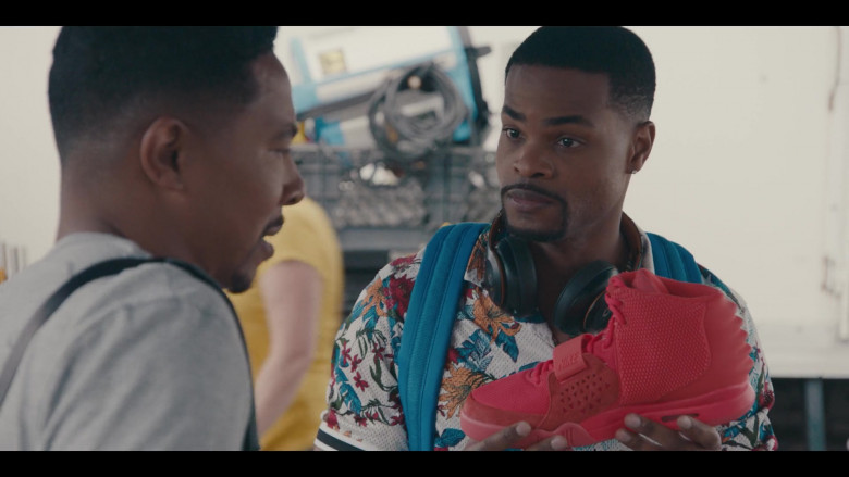 Nike Air Yeezy 2 Red October Shoe Held by Andrew Bachelor as Bobby in Sneakerheads S01E02