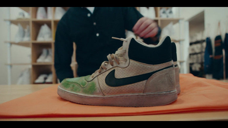 Nike Court Borough Mid Sneakers in Sneakerheads Season 1 Episode 6 TV Series by Netflix (2)
