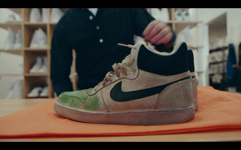 Nike Court Borough Mid Sneakers in Sneakerheads Season 1 Episode 6 TV Series by Netflix (2)