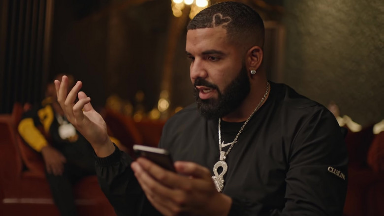 Nike Jacket Outfit of Drake in Popstar Music Video