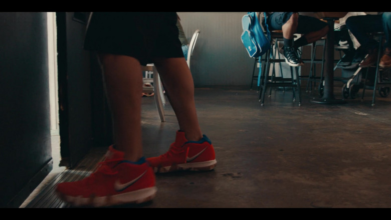 Nike Kyrie 4 Red Sneakers in Sneakerheads S01E02 Netflix TV Show