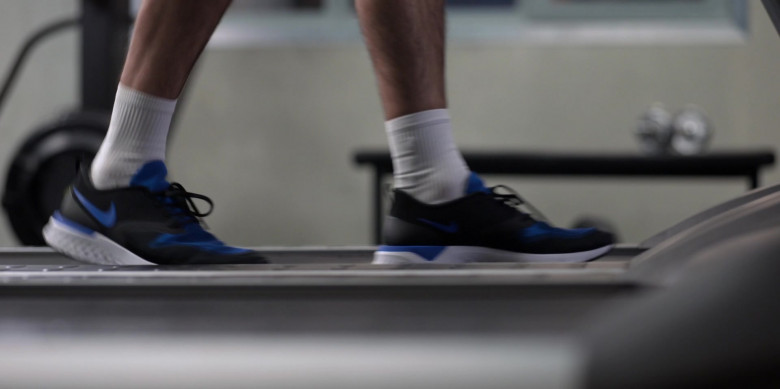 Nike Odyssey React 2 Trainers of Brett Goldstein as Roy Kent in Ted Lasso S01E06